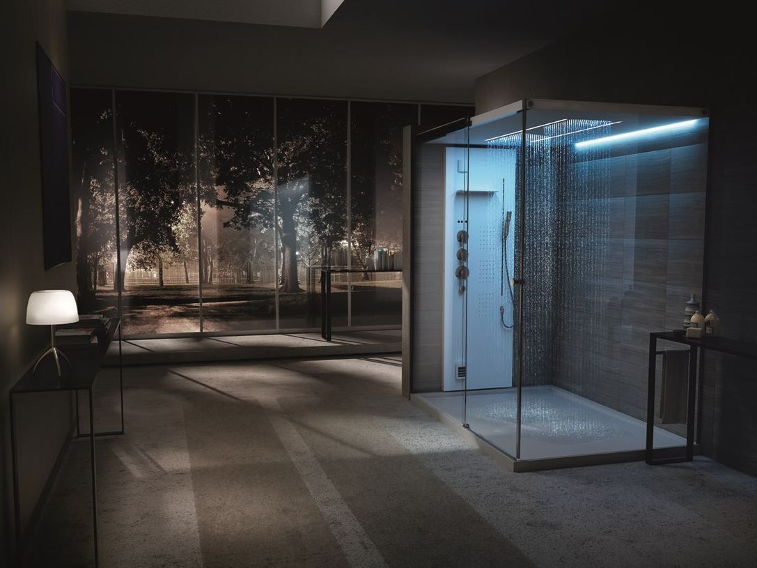 Light by Tueco is a Completely Enclosed Shower Stall | Composite ...
