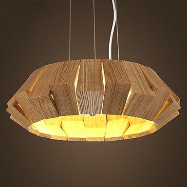 Lamparas de madera artesanales exclusivas buscar con google madera lighting pendant lamp - Lamparas colgantes de madera ...