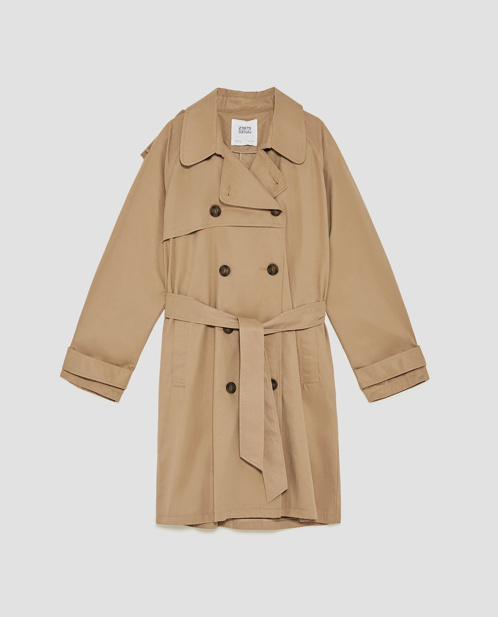 TRENCH XL-Trench-MANTEAUX-FEMME   ZARA France   Trench-coat   Mode 02d43750676