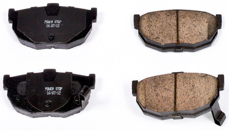 New Power Stop Z16 Ceramic Rear Brake Pads Hyundai Elantra Tiburon Kia Spectra Rear Brake Pads Brake Pads Power Stop