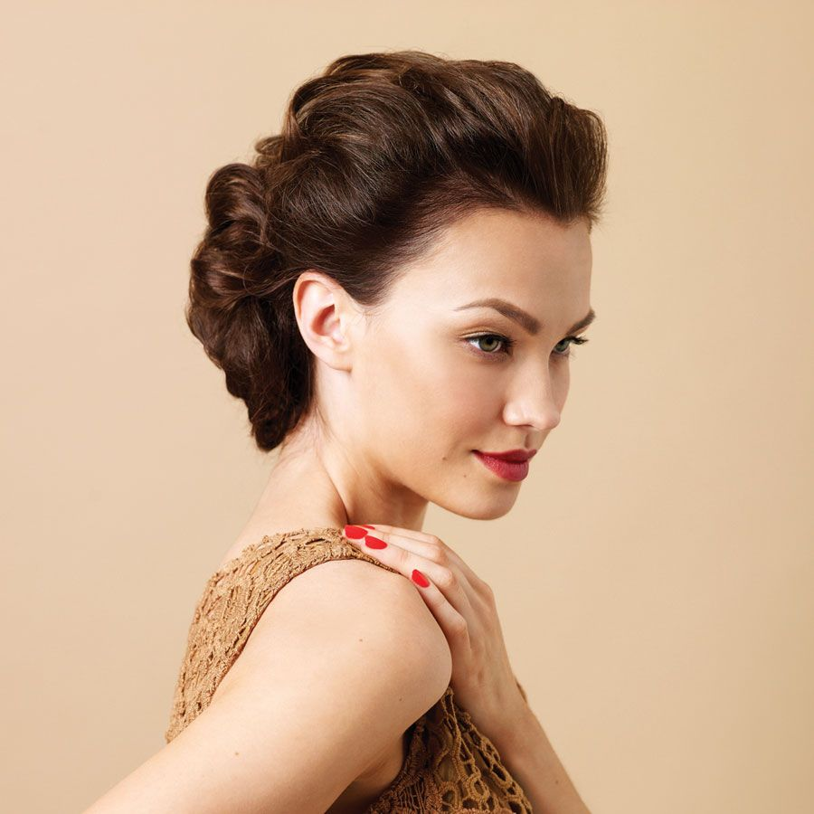 Pretty wedding hair romantic I like that it is off the face but am