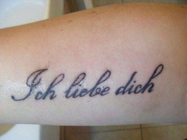 Downloadable German Tattoo Sayings: German.....my Favorite Saying That I Heard While Growing