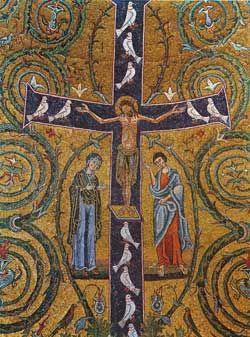 Resultado de imagen de la cruz arbol de la vida románico