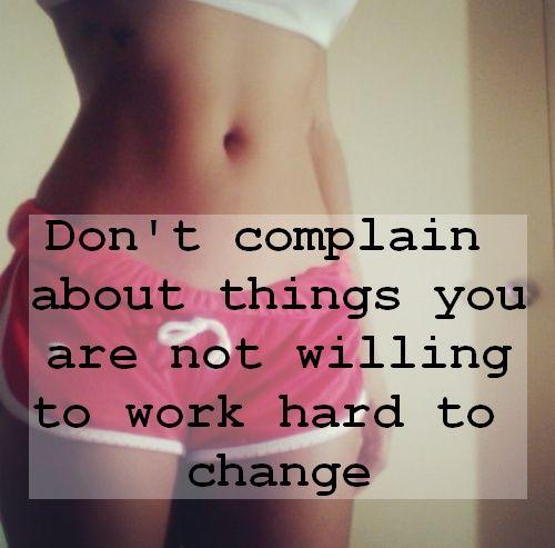 I'm working hard to change them!