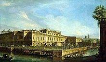 Elizabeth preferred to sojourn in the wooden Summer Palace