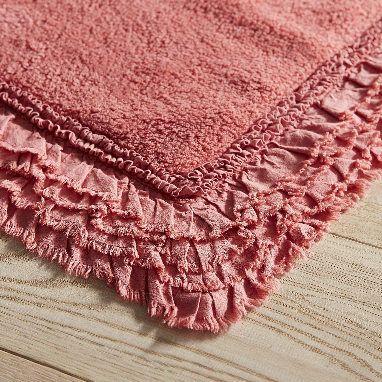 com bathroom dark angeloferrer light room rugs pink red rug bath pastel contour
