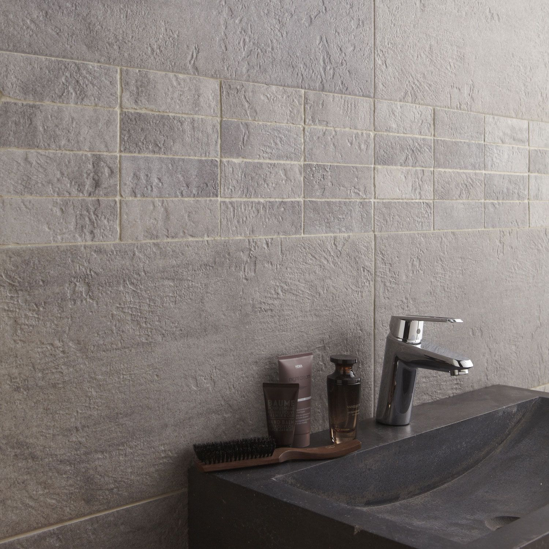 mur gris carrelage sol