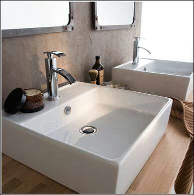 vasque poser carr sdb en 2019 vasque salle de bain. Black Bedroom Furniture Sets. Home Design Ideas