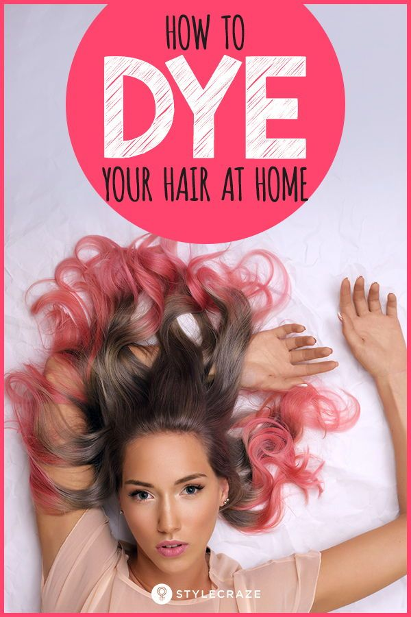 How To Dye Your Hair At Home #haircare | posts in 2019 ...