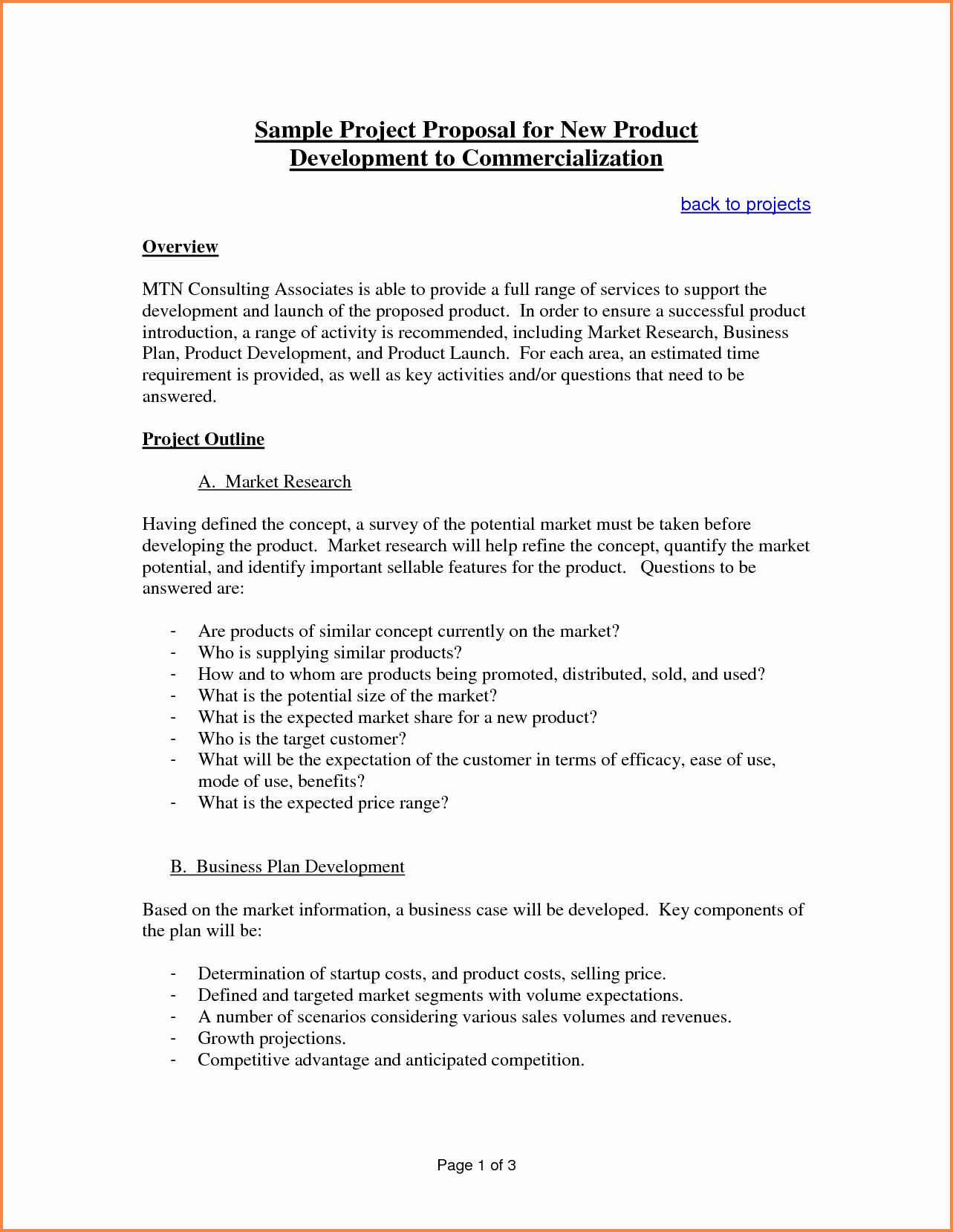 Documentary Proposal Template New 6 Sample Proposal Template For Project Project Proposal Example Business Proposal Template Project Proposal Template