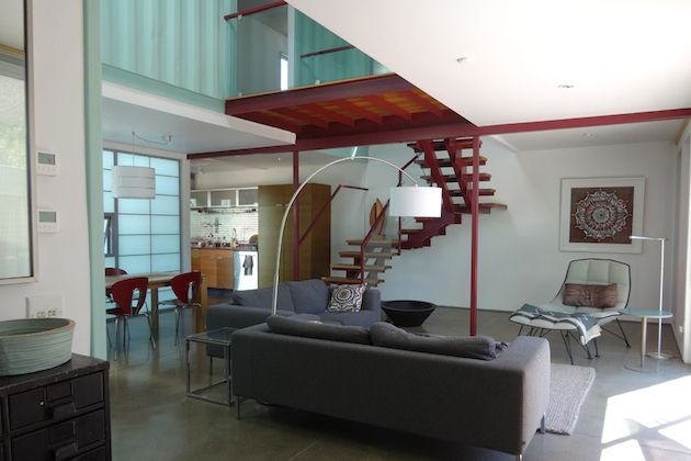 SIX UNIT SUSTAINABLE SHIPPING CONTAINER HOUSE  http://inthralld.com/2013/10/six-unit-sustainable-shipping-container-house/