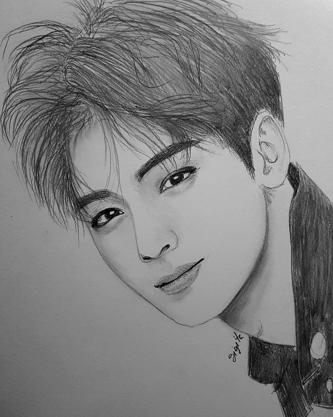 New The 10 Best Art With Pictures Enwoo Officialastro Eunwo O C Chaeunwoo Astro Boysband Singer Kpop Music Lukisan Wajah Sketsa Cara Menggambar