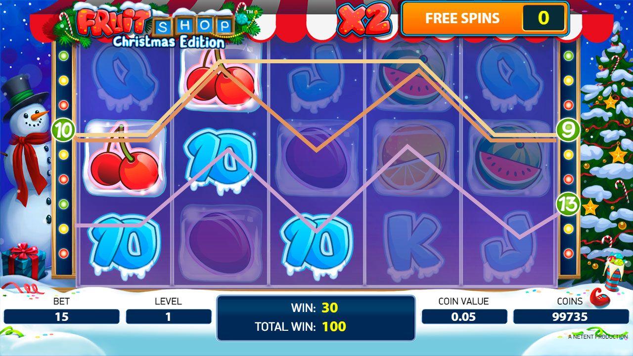 Spiele Fruit Shop Christmas Edition Slot Machine - Video Slots Online