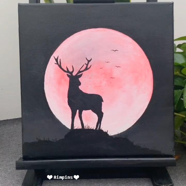 Photo of Beautiful Acrylic Painting Video Tutorial  Part 70