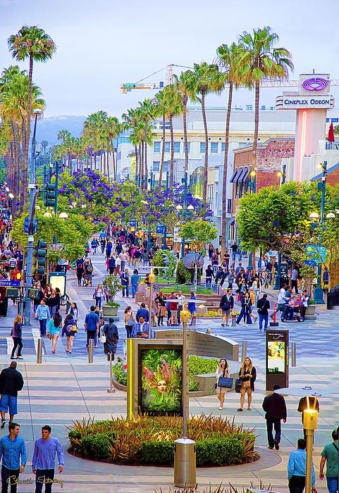 Third Street Promenade >> Third Street Santa Monica Chuck Staley The Third Street