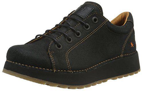 Ganter Anke, Weite G - Chaussures À Lacets Pour Les Femmes, Schwarz 100, 42