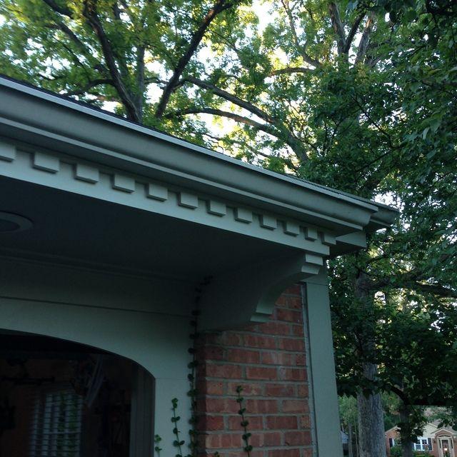 Exterior Diy Dentil Moulding House Amp Home Dentil