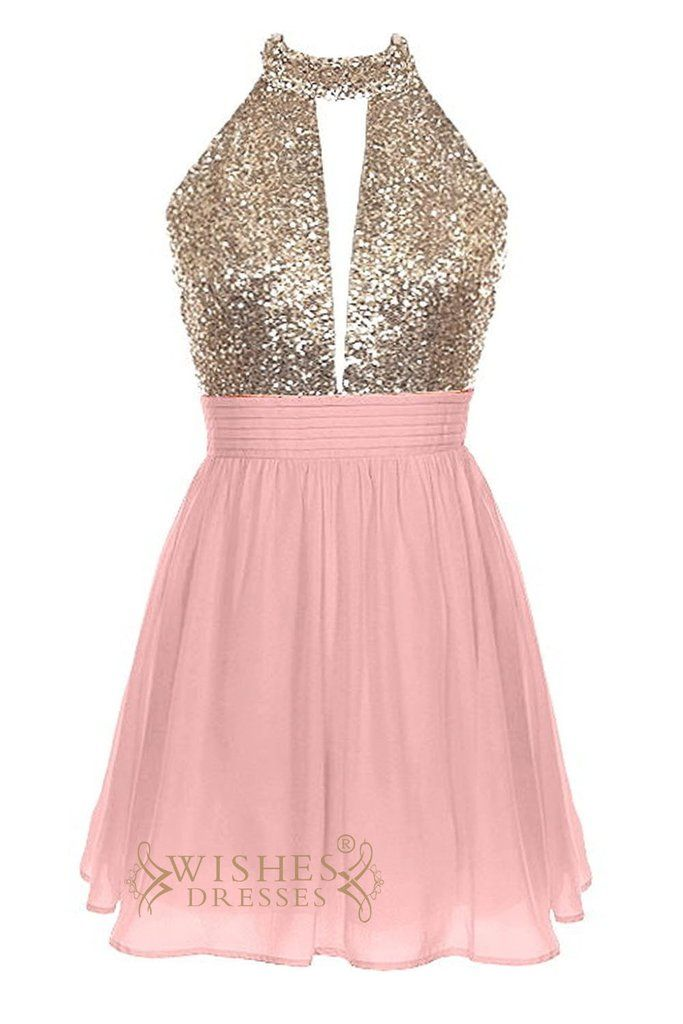 Affordable bicolor short Prom Dress AM421 | Vestiditos, 10 años y ...