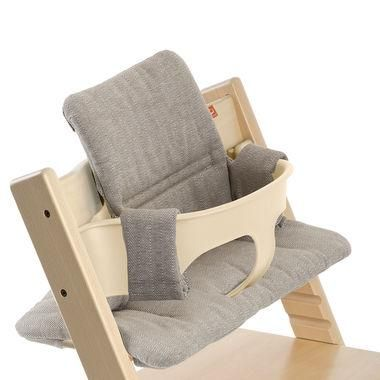 Miraculous Tripp Trapp Chair In Natural With Baby Set And Hazy Tweed Caraccident5 Cool Chair Designs And Ideas Caraccident5Info