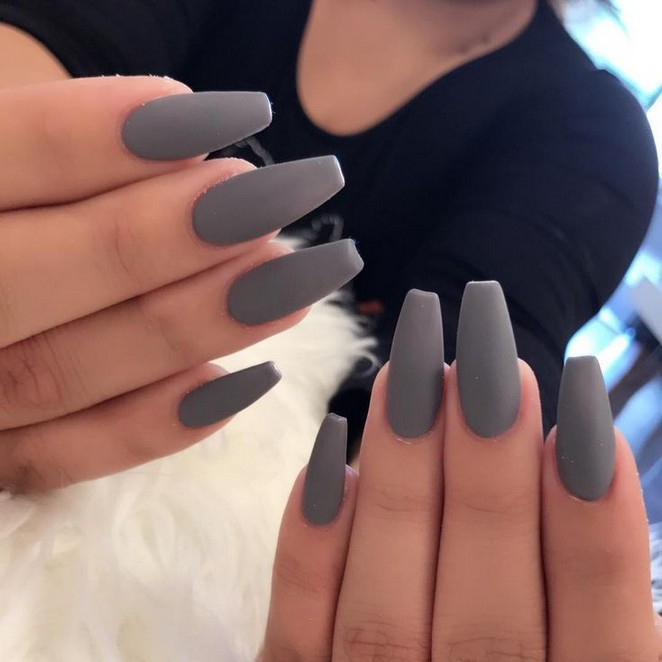 Design Nagel Pretty Acrylic Nails Popular Phony Claws Have Been Established S V 2020 G Dizajnerskie Nogti Serye Nogti Nogti