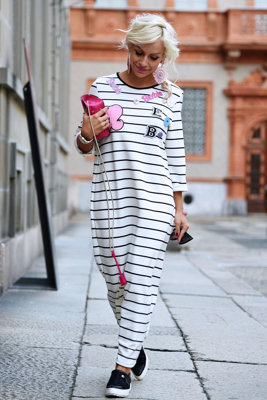online store 62592 4d973 Sijana collezione, vestiti a righe, vestiti Barbie, vestiti ...
