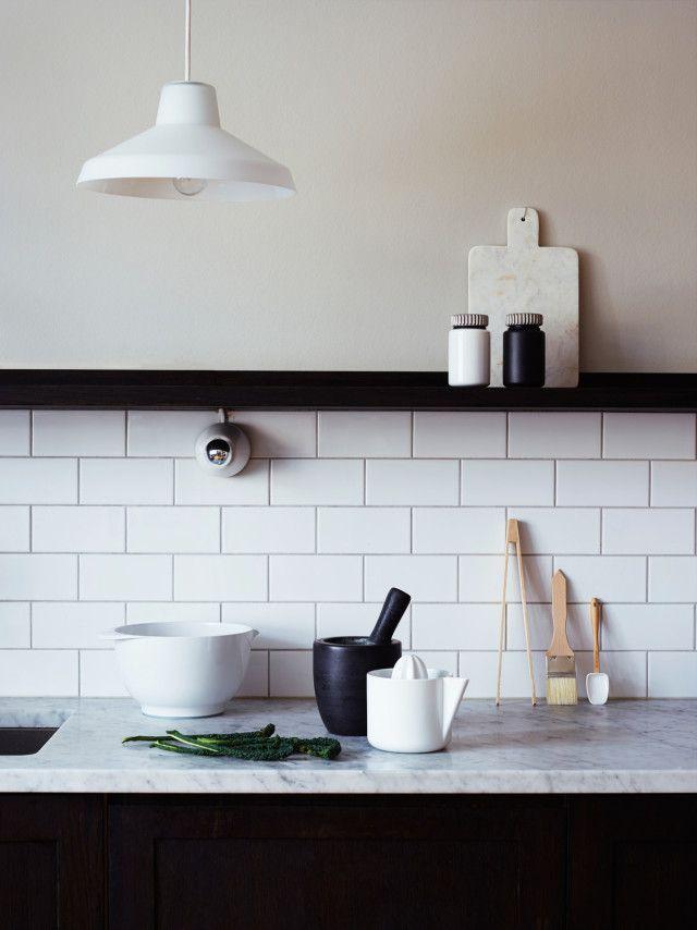 Ein warmer Sand-Creme-Ton als Wandfarbe #Kolorat #Küche #streichen