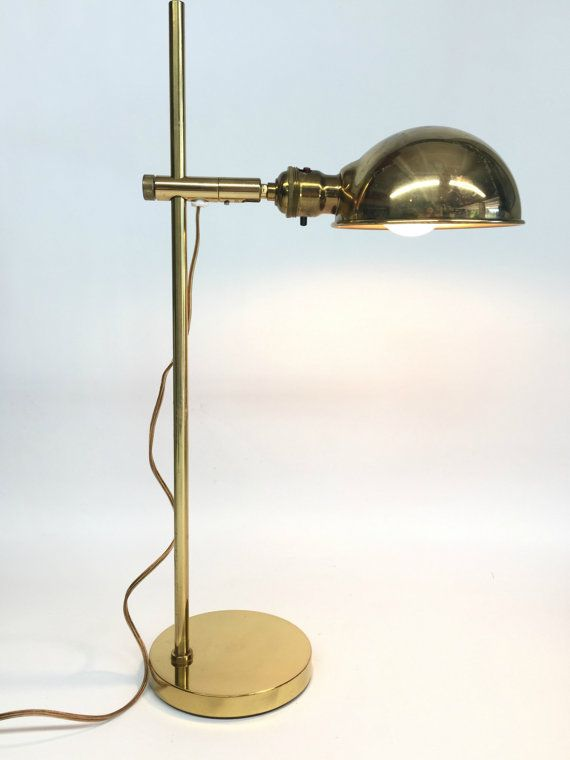 RESERVED For KATE   Headstronginheels Brass Lamp, OMI Lamp, Koch U0026 Lowy,  Vintage Lamps, Pharmacy Lamp, Mid Century Lamp | Pinterest | Pharmacy, Mid  Century ...