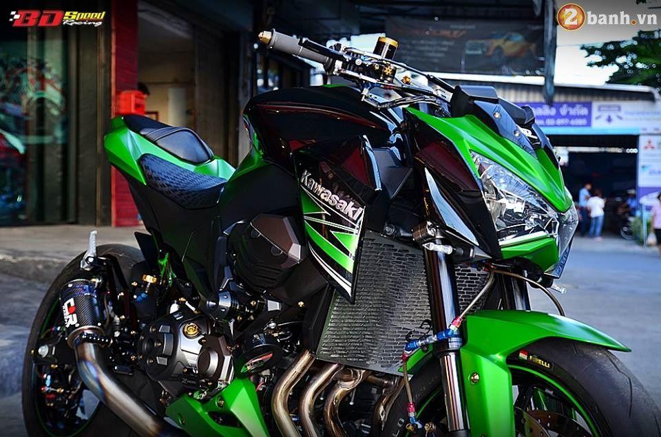 Kawasaki Z800 trong bản độ vô cùng kích thích | Show xe -