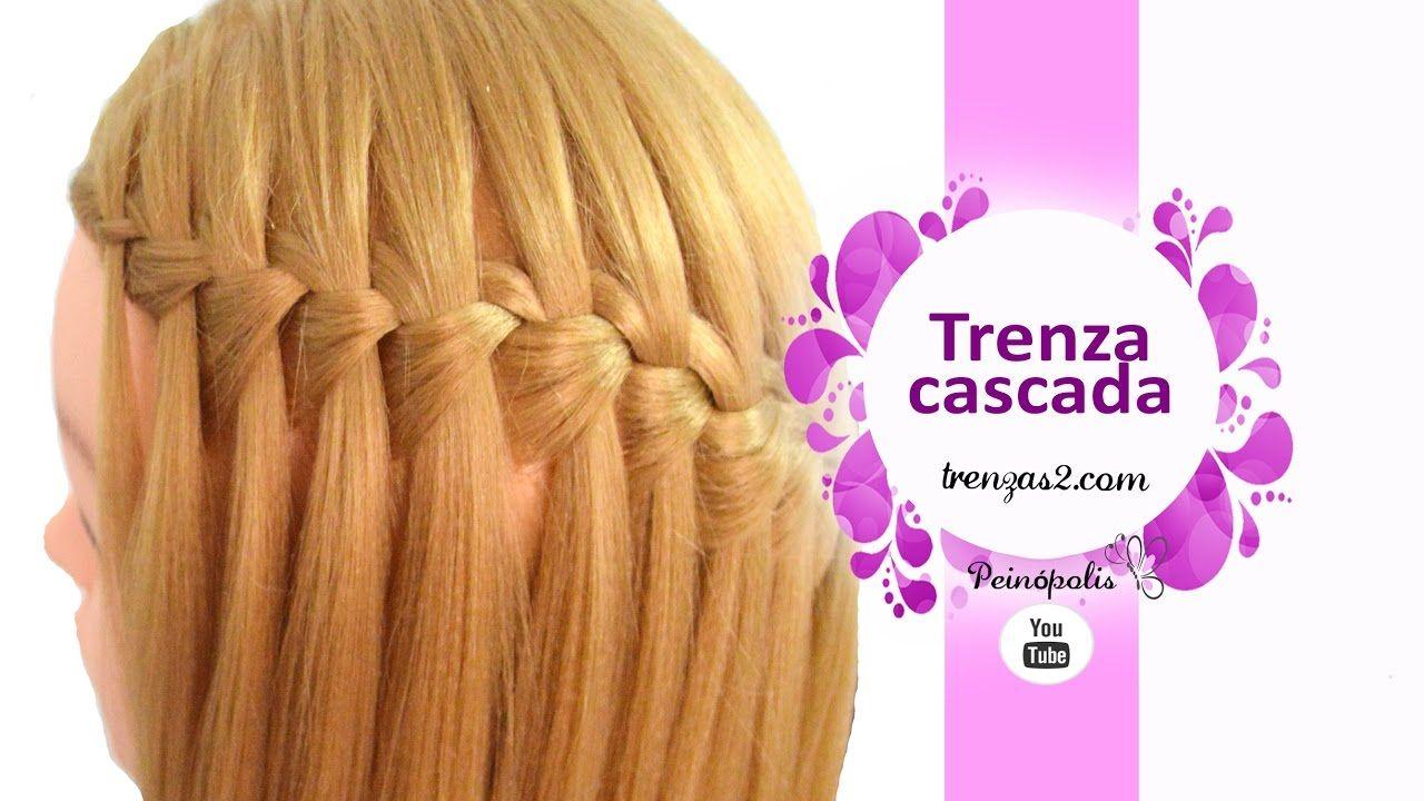 Peinados bonitos de trenza cascada faciles de hacer en - Peinados de moda faciles de hacer en casa ...