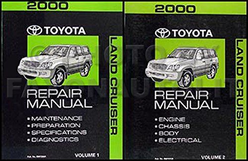 2000 Toyota Land Cruiser Repair Shop Manual Original Set Toyota Land Cruiser Land Cruiser Cruisers
