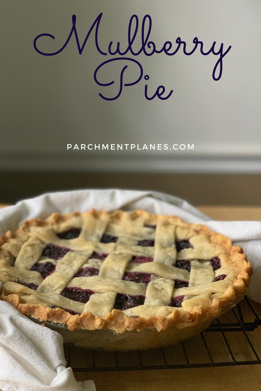 Mulberry Pie Recipe Mulberry Recipes Mulberry Pie Easy Tart Recipes
