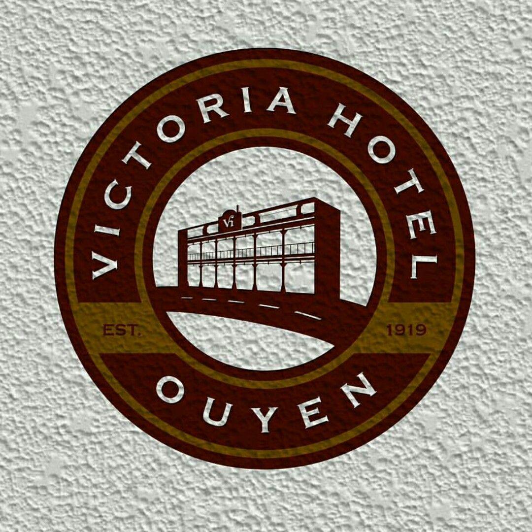 Finished project for victoria hotel, ouyen australia ... Cafe and bar .. original design by yudo_sajiwo....    #vintage #handmade #nature #design #logo #typograhpy #retro #graphic #inspiration #yudosajiwo #brand #hotel l #branding #draw #drawing #ilustration #typedaily #cafe