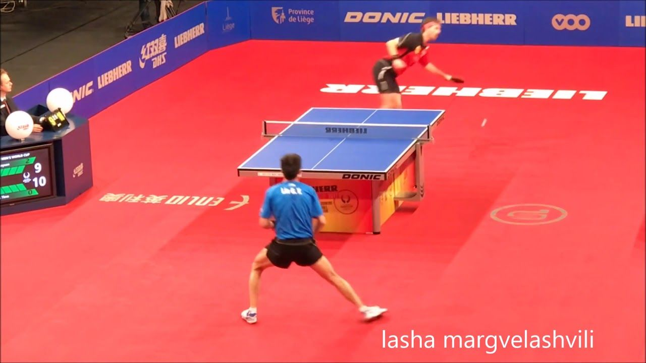 Timo Boll Vs Lin Gaoyuan World Cup 2017 World Cup 2017 World Cup Table Tennis