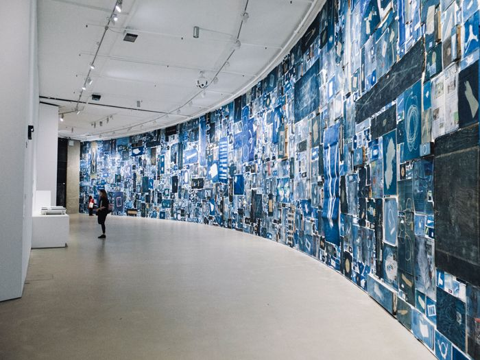 Image result for walead beshty cyanotype