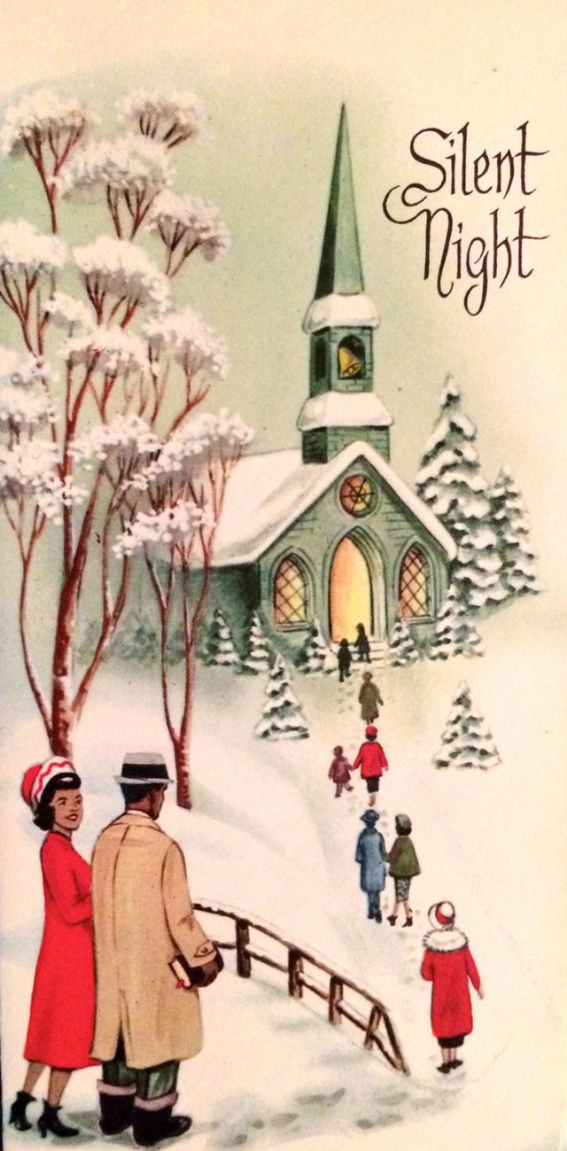 These Festive African American Christmas Greeting Cards From The