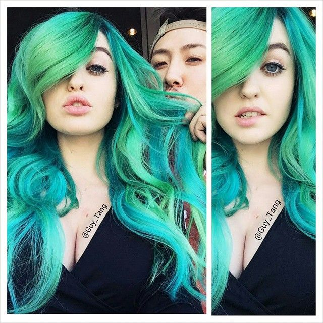 I can't wait to change her color again. What colors do you think we should do next? www.youtube.com/GuyTangHair