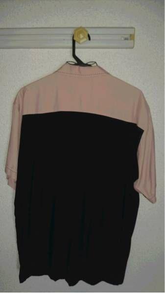 クリームソーダ黒×ピンクシャツ_画像2