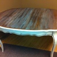 Dining Table painted by A to Z Custom Creations