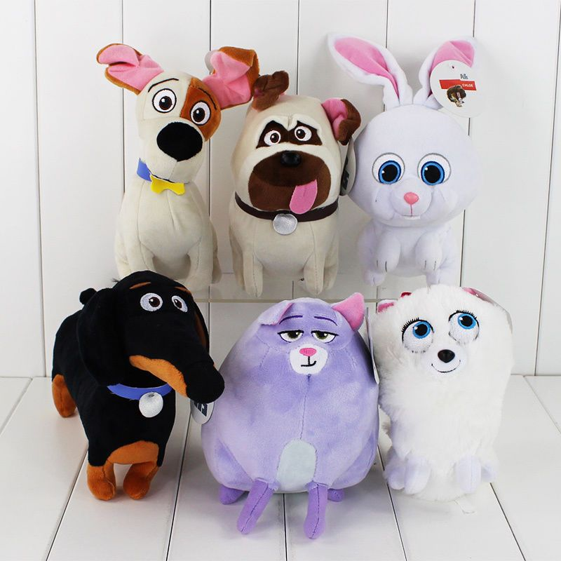 The Secret Life Of Pets Toy Action Figure With 6 Variant Model For