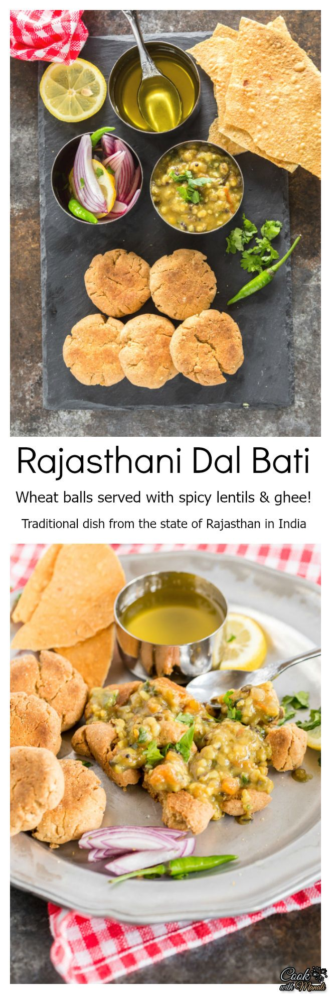 Dal bati a traditional dish from the state of rajasthan cuisine forumfinder Images
