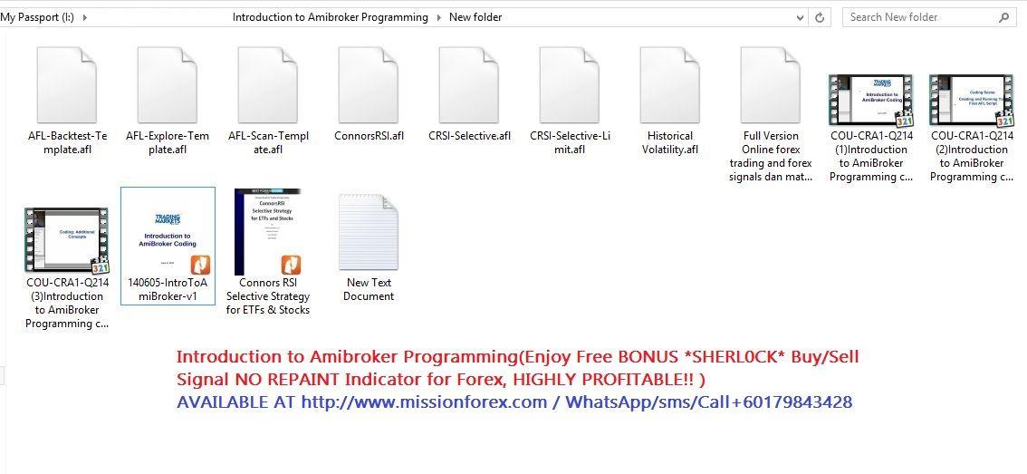 Introduction To Amibroker Programming Enjoy Free Bonus Sherl0ck