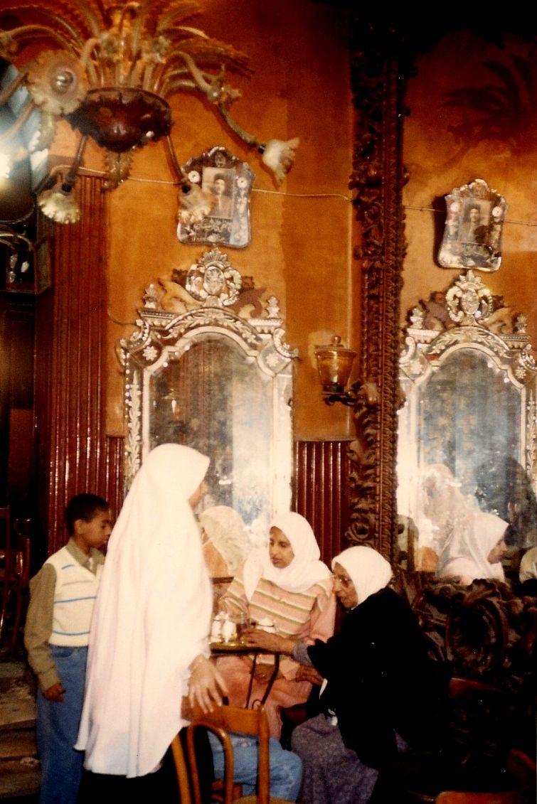 interior of Khan El Khalili Bazaar - Cairo - Egypt