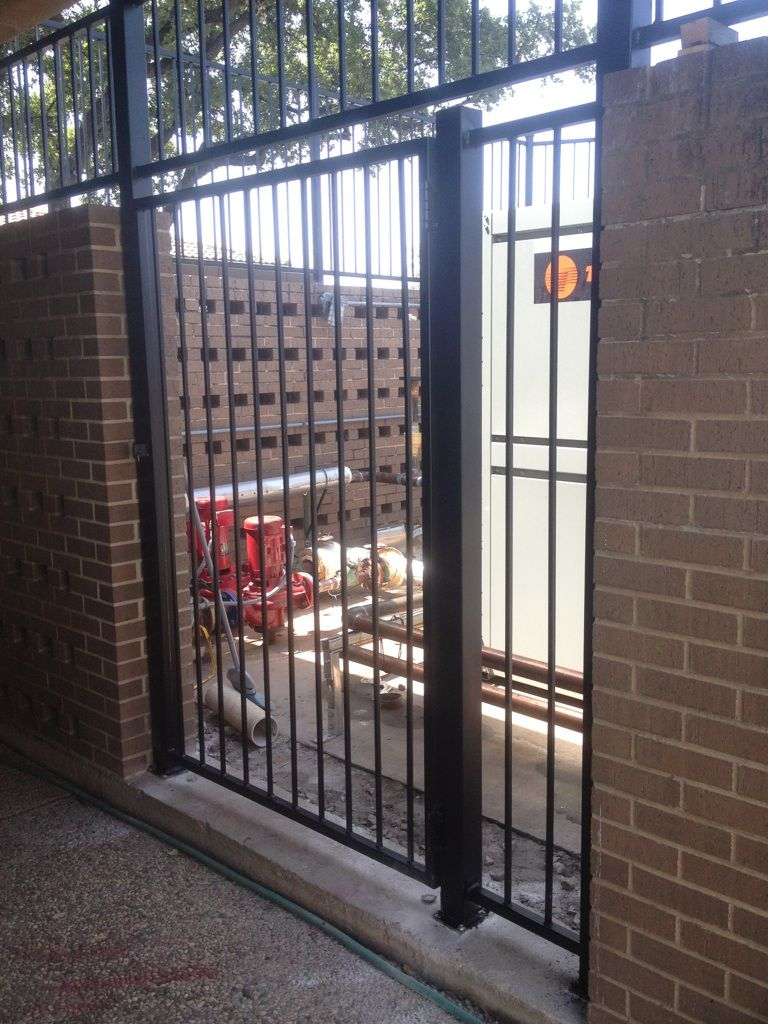 Masonry wall and Fence constructed for HCI Contractors