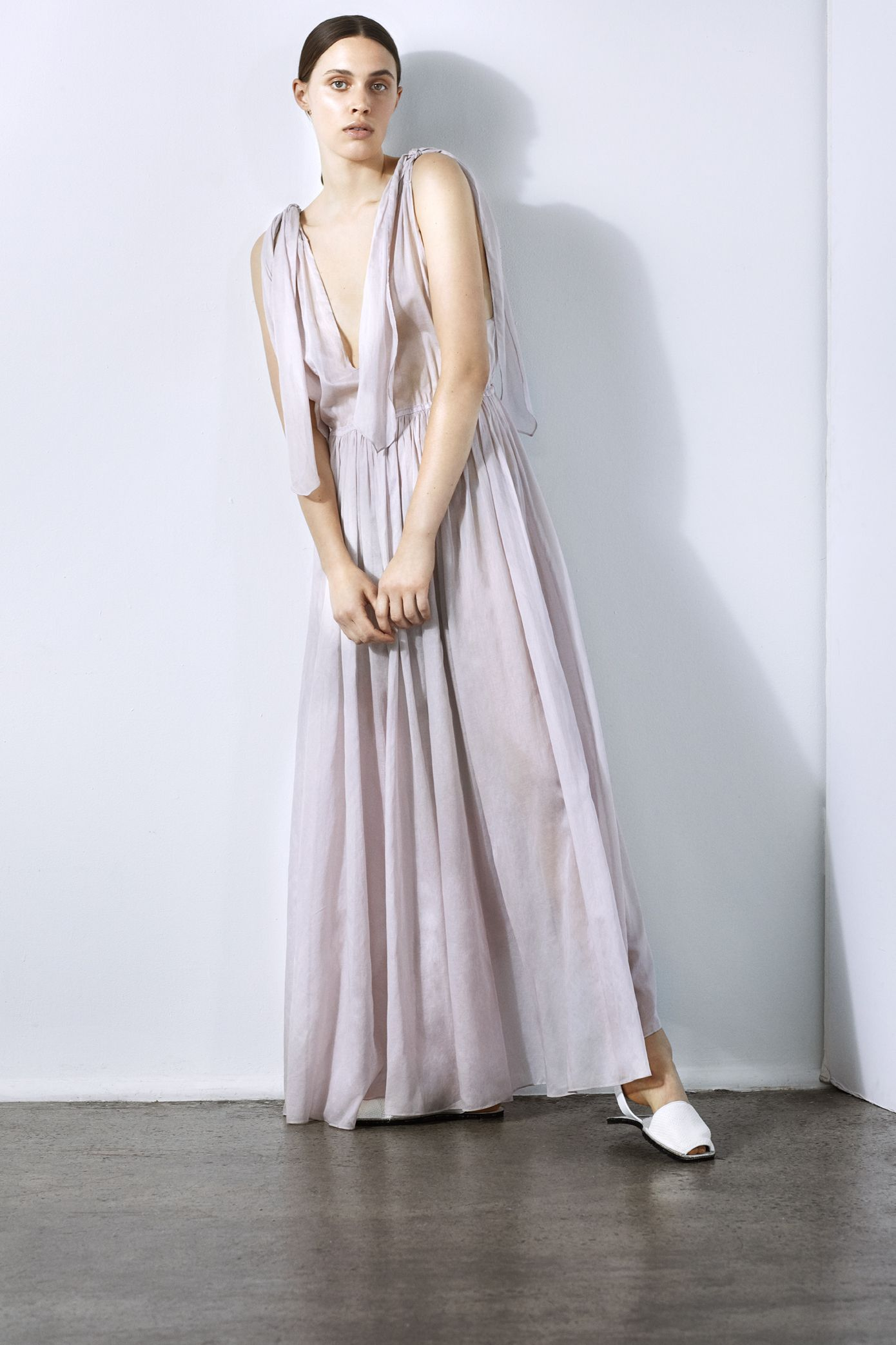 Nikiya maxi dress aw collection three graces london