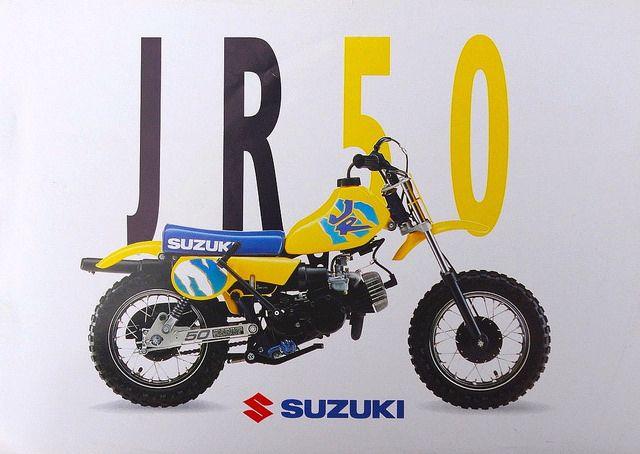 1992 Suzuki Jr50 Suzuki Monster Trucks Bike