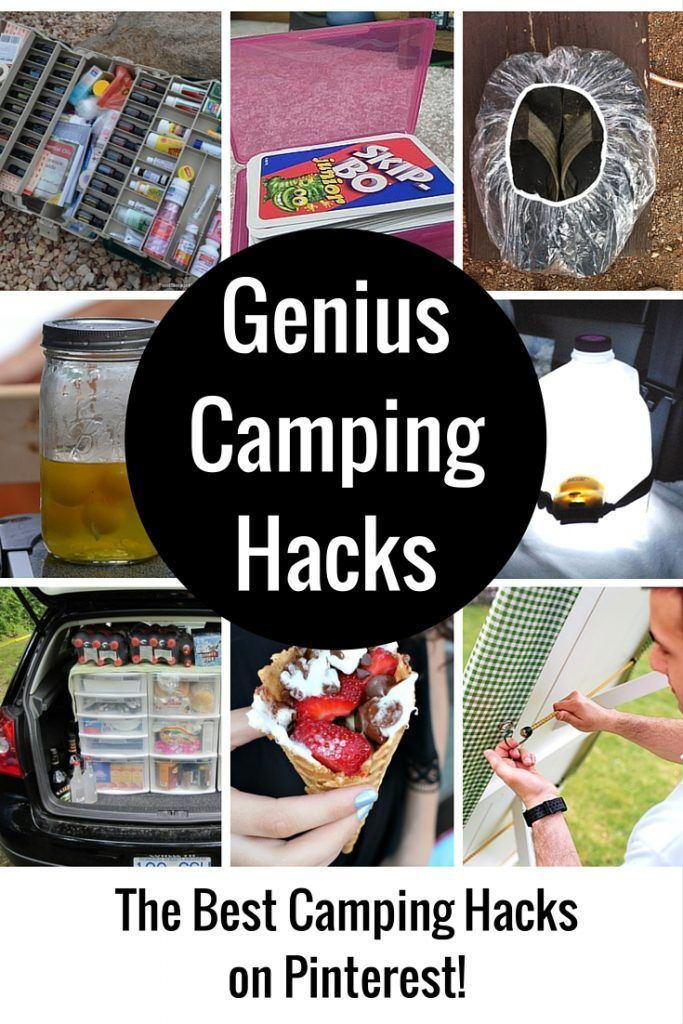 Photo of Camping hacks that are pure genius! * Use weekly medicine containers, u …
