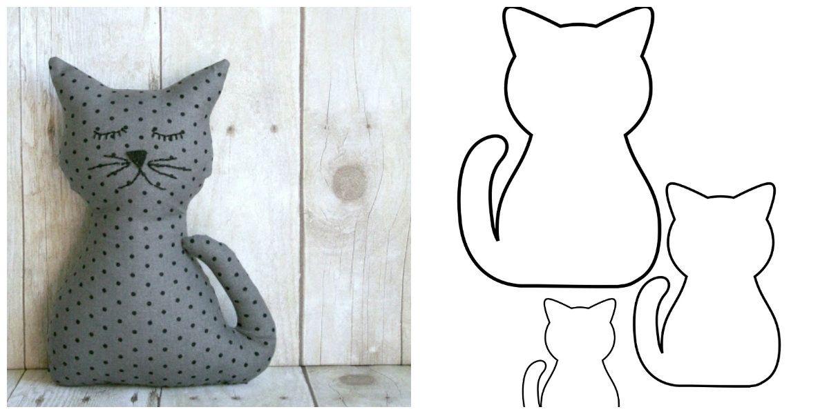 guarda anche questi gattino fermaporta in pannolenci di