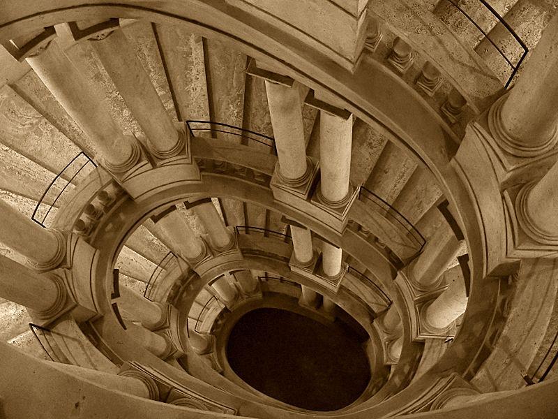 Palacio Barberini, escalera de Belarmini