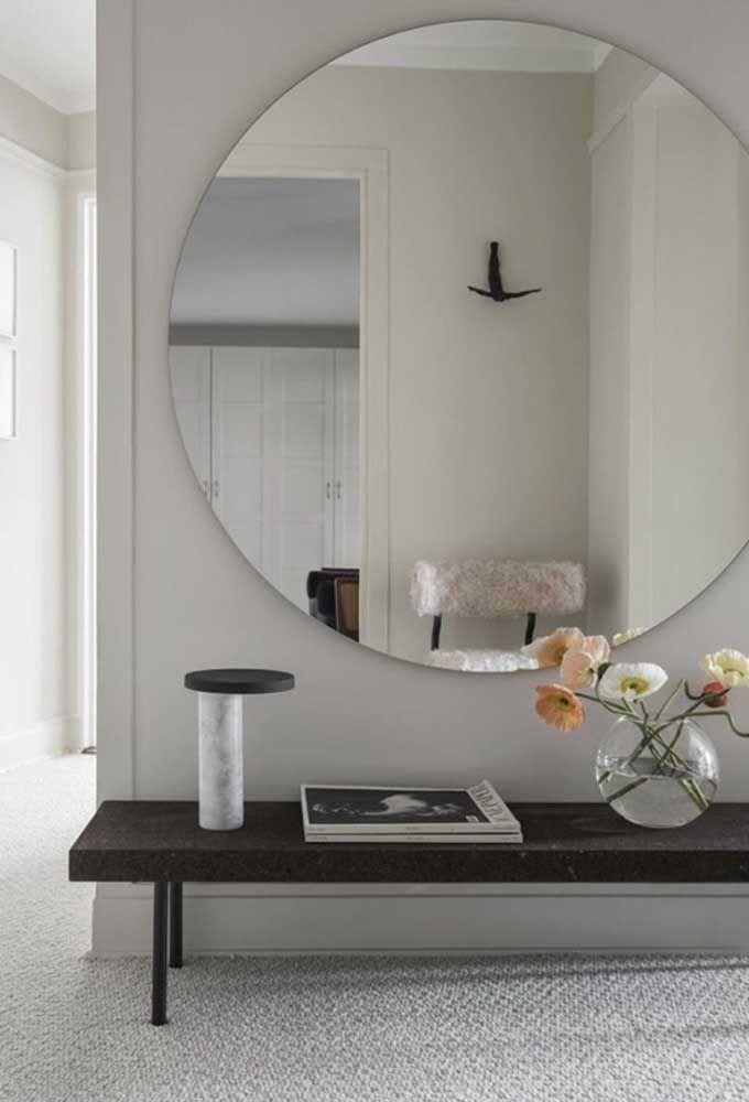 Espejos redondos como manejar la decoraci n con este - Espejos redondos pequenos ...