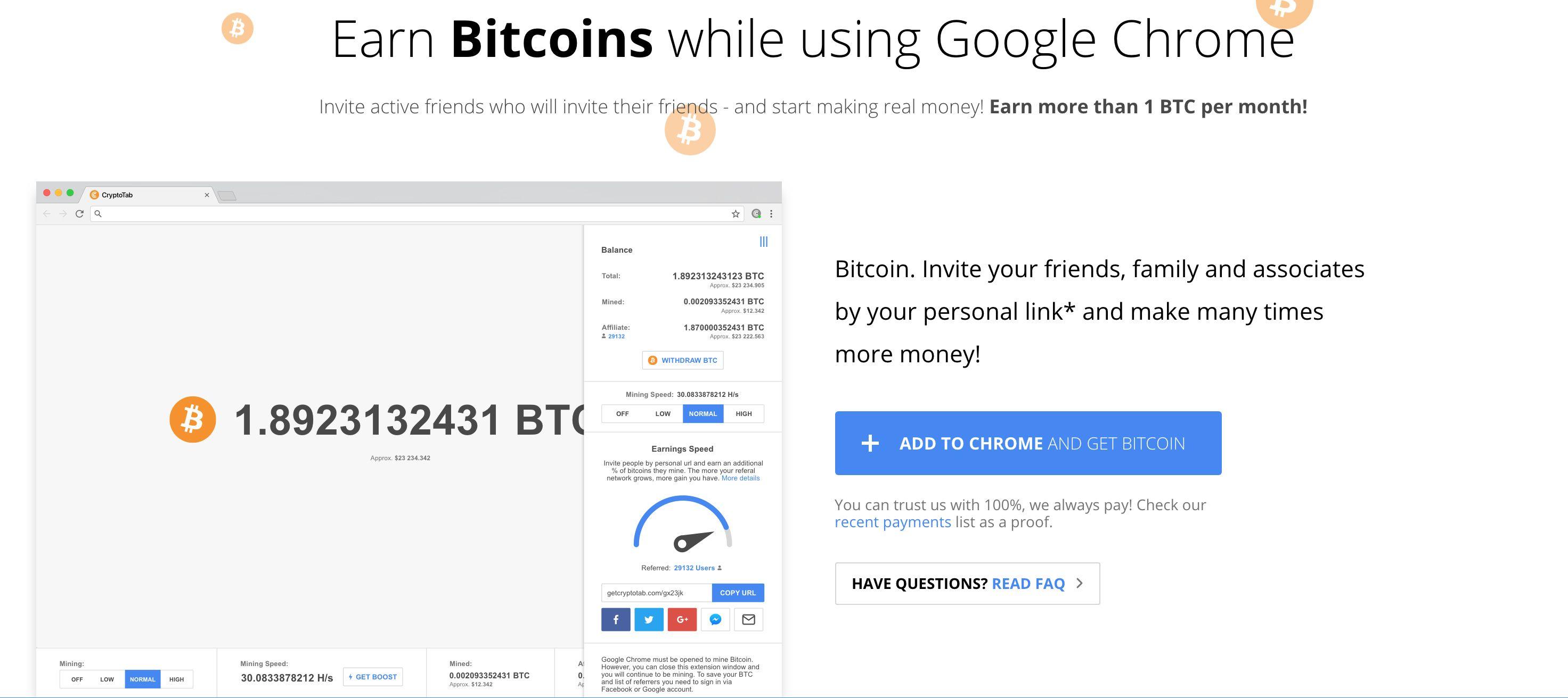 come guadagnare bitcoin gruppo di criptovaluta